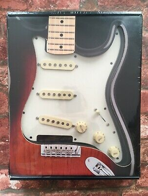 Fender USA Strat Pickguard Pre-Wired with Custom Shop '69 Pickups, Parchment