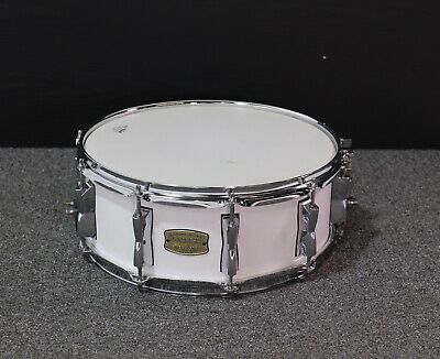 Yamaha Stage Custom 14 x 5.5'' Snare Drum, Pure White-USED