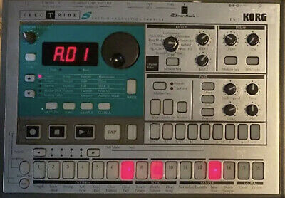 KORG es-1 sampler with instruction manual Used Electribe Work free shipping pre