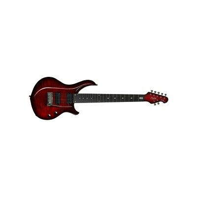 Sterling By Music Man Majesty Dimarzio 7 Corde Royal Red Chitarre Elettriche