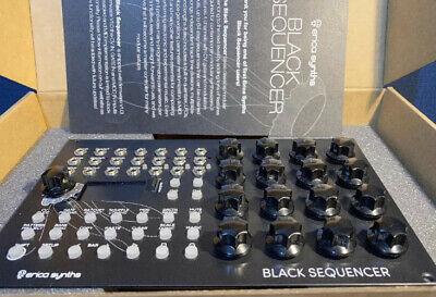 Erica synths Black Sequencer /used only a main part hyper /funk machine With Box