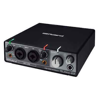 Roland Rubix22 USB Audio Interface 2-In/2-Out for PC, Mac & iPad