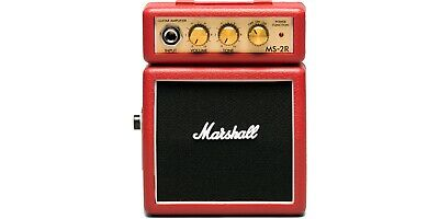 Marshall MS-2 Micro Amp Red