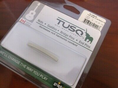 NEW - Graph Tech PQ-1000-00 Curved Nut Blank For Fender Strat - TUSQ