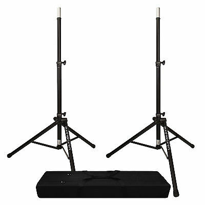Ultimate Support TS-80B Speaker Stand Pair + Dual Speaker Stand Bag • 126.66£