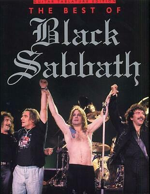 The Best Of Black Sabbath (TAB)  Guitar [TAB], With Chord Symbols  Book Only MUS • 15£
