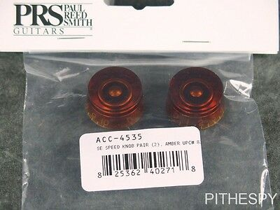 PRS SE Amber Volume Tone Control Speed Knobs Guitar Parts Paul Reed Smith • 15.34£
