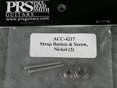 PRS NICKEL STRAP BUTTONS ACC-4217 CUSTOM CE SE S2 McCARTY PAUL REED SMITH