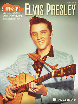 Elvis Presley - Strum And Sing Guitar  Guitar And Vocal  Book Only HL00198890 • 10.95£