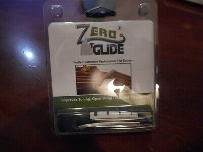 NEW Gold Tone Zero Glide Replacement Slotted Nut For Fender P. Bass - ZS-17F
