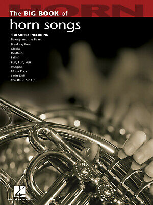 Big Book Of Horn Songs  Horn  Book Only HL00842212 • 12.45£