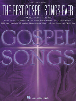 The Best Gospel Songs Ever  Piano, Vocal and Guitar  Book Only HL00310503