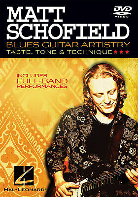 Matt Schofield - Blues Guitar Artistry Taste, Tone & Technique Guitar  DVD Only • 16.75£