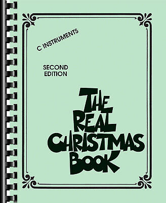 The Real Christmas Book - C Edition C Instruments Sheet Music Instrumental Album • 18.20£