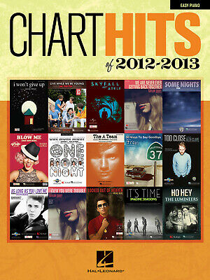 Chart Hits Of 2012-2013  Easy Piano  Book Only HL00118290 • 9.20£