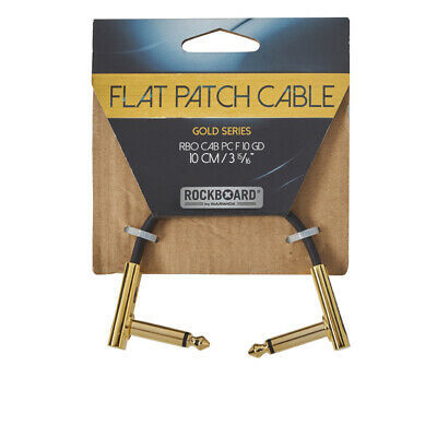RockBoard Flat Patch Gold Series Cable 10cm / 3.94