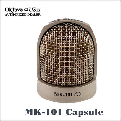 Oktava MK-101 Side Address Large Diaphragm Capsule Silver - MK-012 - Brand New • 161.83£