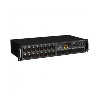 Behringer S16 Digital Snake Stage Box Digitale 16 Preamplificatori Microfonici 8 • 519.95£