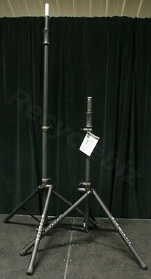 New Pair Ultimate Support TS-100B Speaker Stands TS100 & BAG90D Carry Bag Promo! • 142.34£