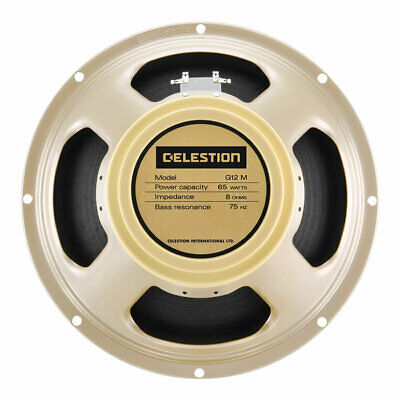 Celestion Classic Series G12M-65 Creamback 8 Ohm Guitar Speaker Open Box Mint Co • 113.48£