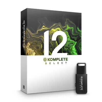 Native Instruments Komplete 12 Select (NEW) • 152£