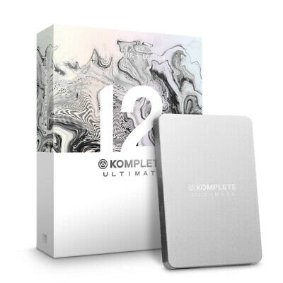 Native Instruments Komplete 12 Ultimate Collectors Edition UPG K8-12 (NEW) • 829£