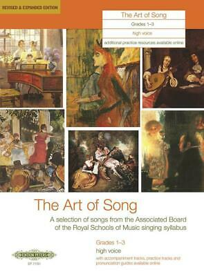The Art of Song Grades 1-3, Medium-High Voice Revised & Expanded Edition Medium