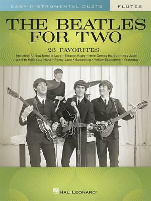 The Beatles for Two Flutes 23 Favorites - Easy Instrumental Duets 2 Flutes  Book