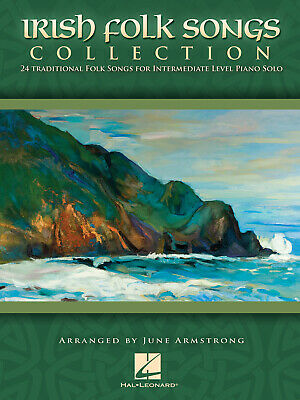 Irish Folk Songs Collection 24 Traditional Folk Songs For Intermediate Level Pia • 8.70£
