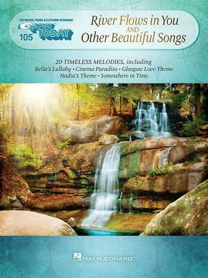 River Flows in You and Other Beautiful Songs E-Z Play Today Volume 105 Piano, Ke