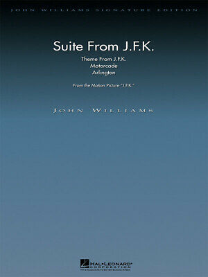 Suite From JFK (DELUXE SCORE)  Orchestra John Williams Score Only HL04490121