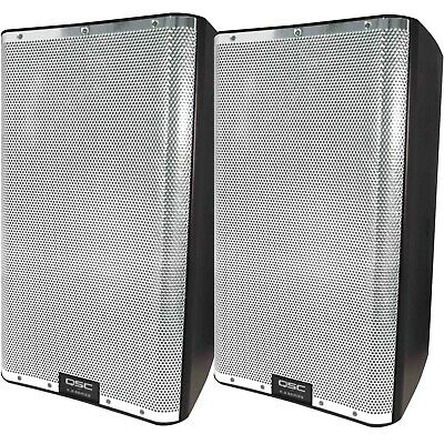 QSC K12.2 Chrome Grill K.2 Series 12  2-Way 2000W Powered DJ PA Speaker K12 Pair • 1,157.73£
