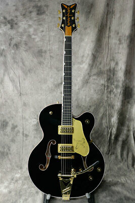 New Gretsch G6136T-BLK Players Edition Falcon Electric Guitar From Japan • 3,541.17£