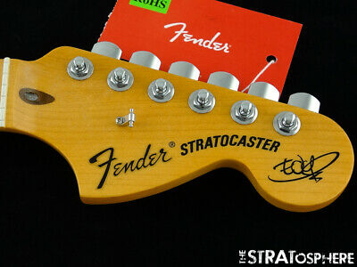 2019 American Fender The Edge Strat NECK + LOCKING TUNERS Stratocaster USA Maple • 440.42£