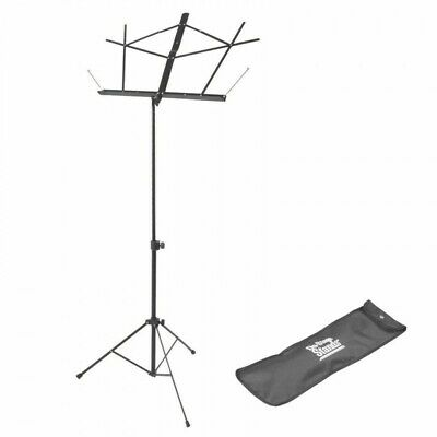 On Stage Stands Compact Sheet Music Stand With Carry Bag - Black SM7122BB • 17.99£