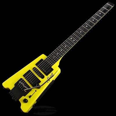 New STEINBERGER Spirit GT-PRO Deluxe HY/Hot Rod Yellow Electric Guitar • 410.39£