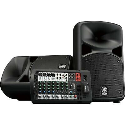 Yamaha STAGEPAS 600BT Active PA DJ System W Bluetooth & Powered Mixer Built In • 715.56£