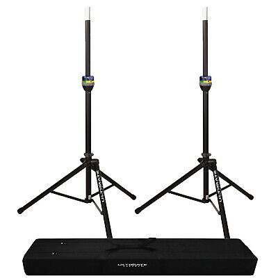 Ultimate Support TS-90B Automatic Lift Aluminum Speaker Stands + BAG-90D Case • 159.16£