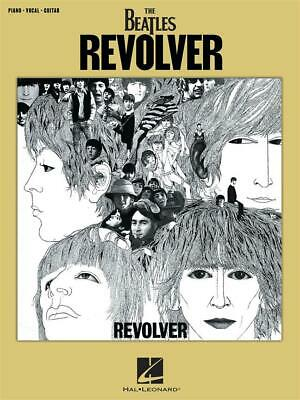 The Beatles: Revolver - Piano, Vocal & Guitar Arrangements • 11.65£