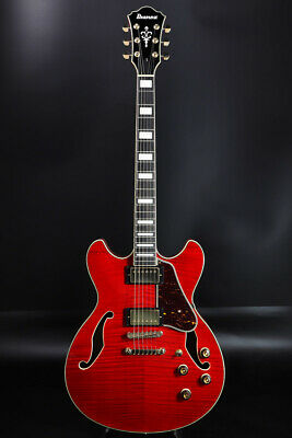 New Ibanez AS93FM-TCD Transparent Cherry Red Electric Guitar From Japan • 659.37£