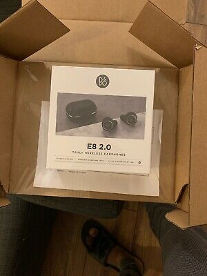 Bang & Olufsen BeoPlay E8 2.0 Truly Wireless Earbuds - Black • 270£