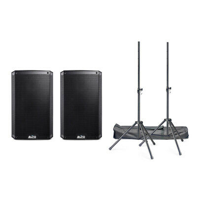 Alto TrueSonic TS310 Active PA Speaker Bundle With Stands And Cables (NEW) • 489£