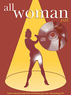 All Woman. Jazz (PVG With CD) 0571527949 Piano, Voice, Guitar Book With CD Faber • 14.99£