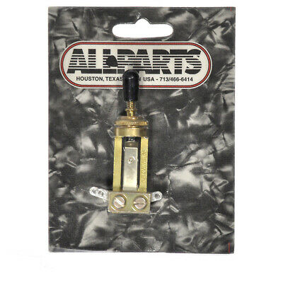Allparts Switchcraft Gold Straight Toggle Switch • 21.76£
