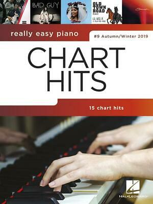 Really Easy Piano: Chart Hits #9 Autumn/Winter 2019 Easy Piano  Book Only HL0032 • 8.99£