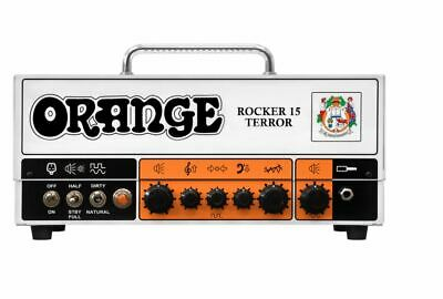 Orange Rocker 15 Terror Amp 15 / 7 / 1 Watt Switchable All Tube Amplifier Head  • 532.43£