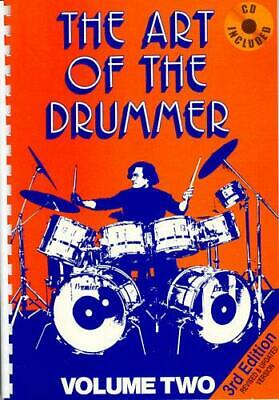 The Art Of The Drummer Volume 2 Drum Kit  Book with CD MUSJV60282