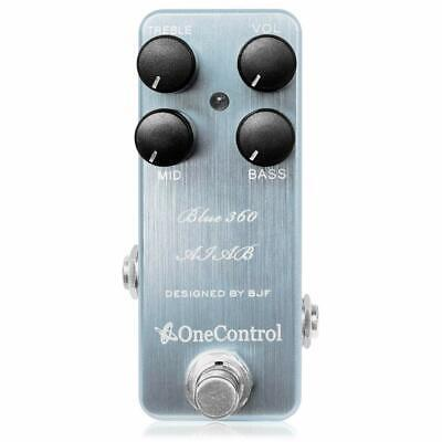 New One Control Blue 360 ​​Aiab Bass Preamp For Effector • 125£