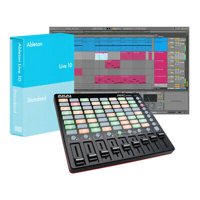 Ableton Live 10 Standard With Akai APC Mini Bundle (NEW) • 318£