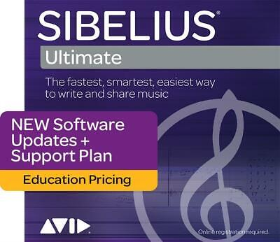 Sibelius | Ultimate 1-Year Support - Education Boxed   Software (Physical Produc • 89.95£